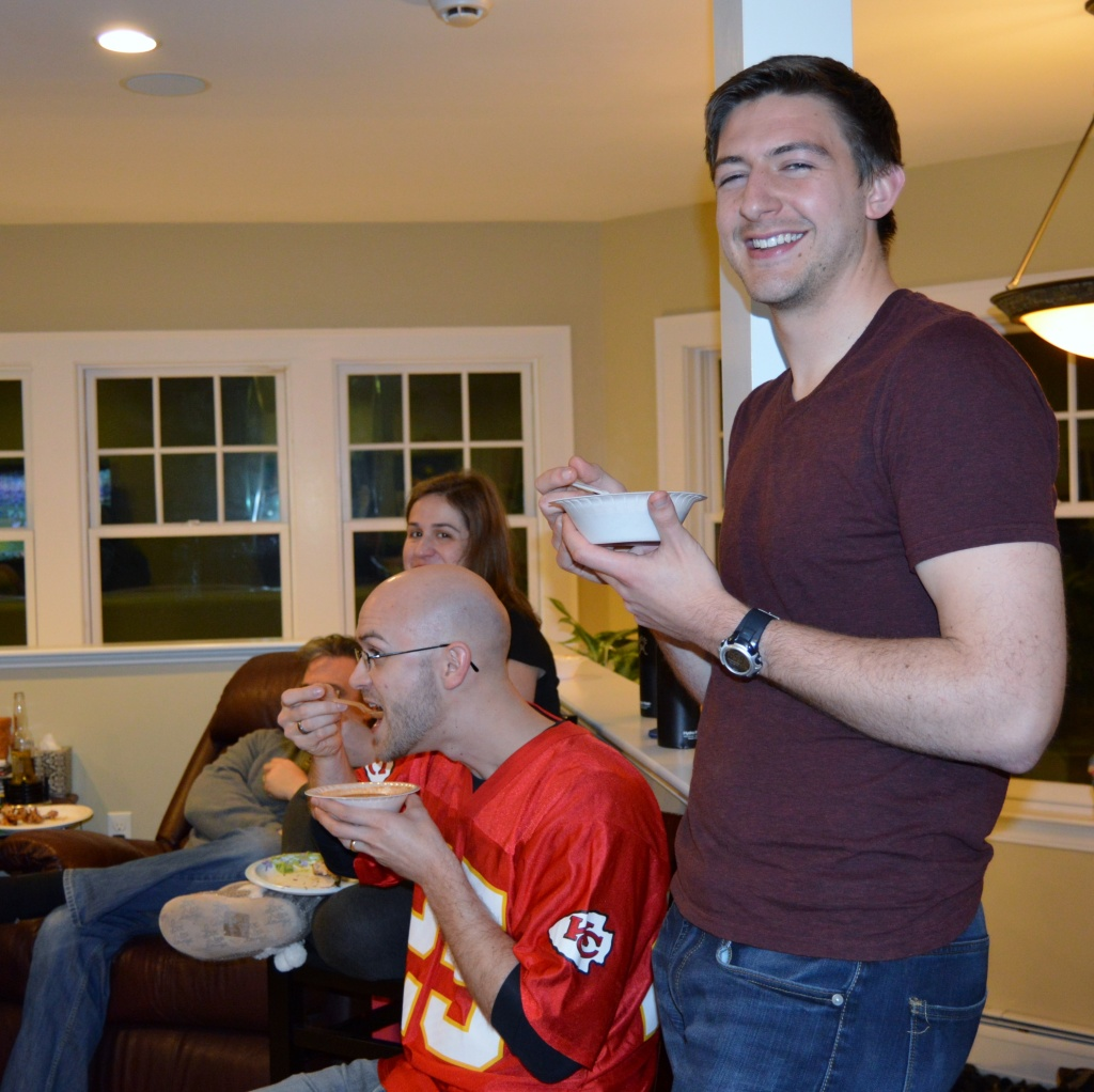 Ben at the 2016 Winter Potluck